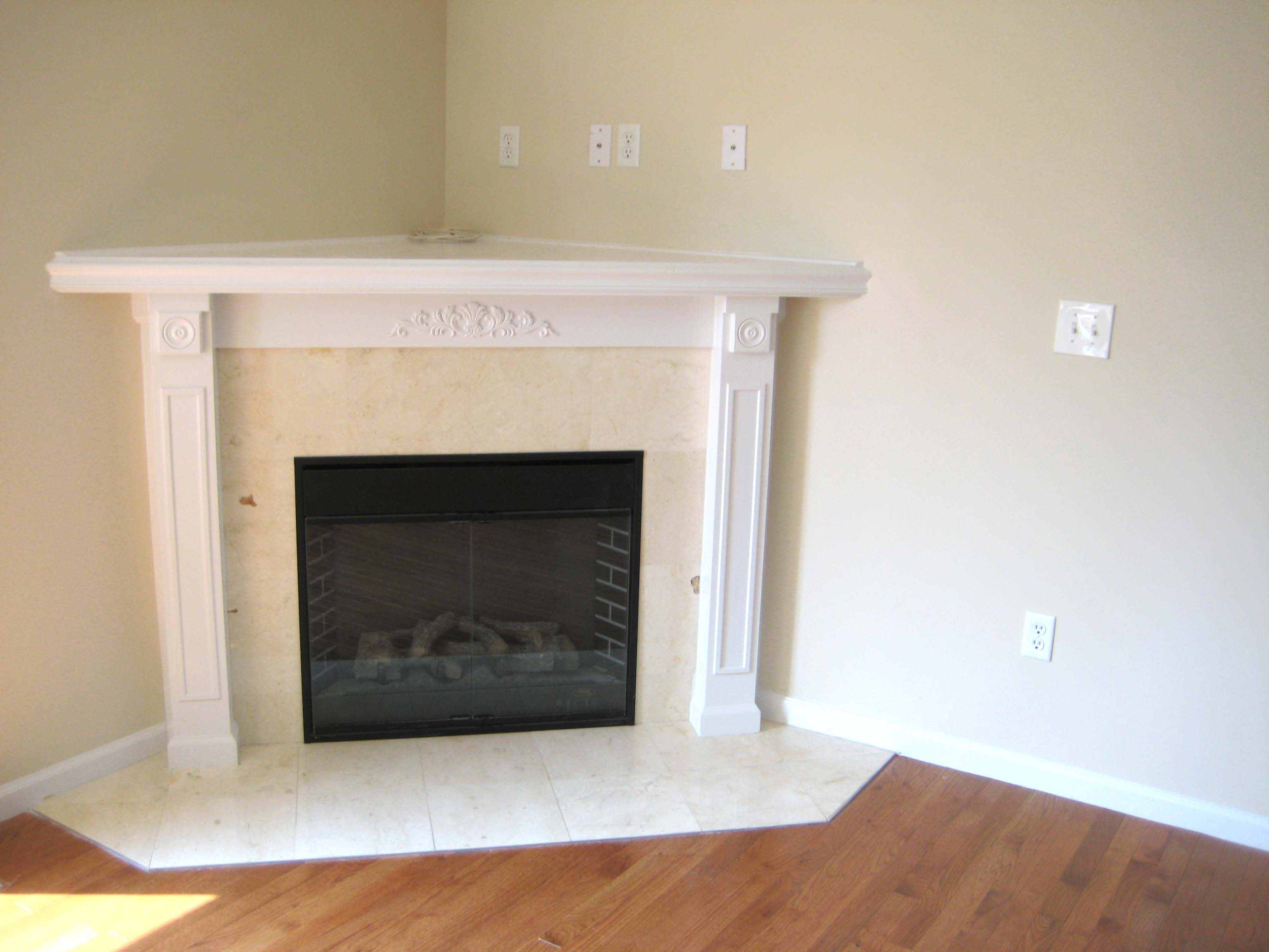 Master Bedroom with Electric Fireplace 3072 x 2304
