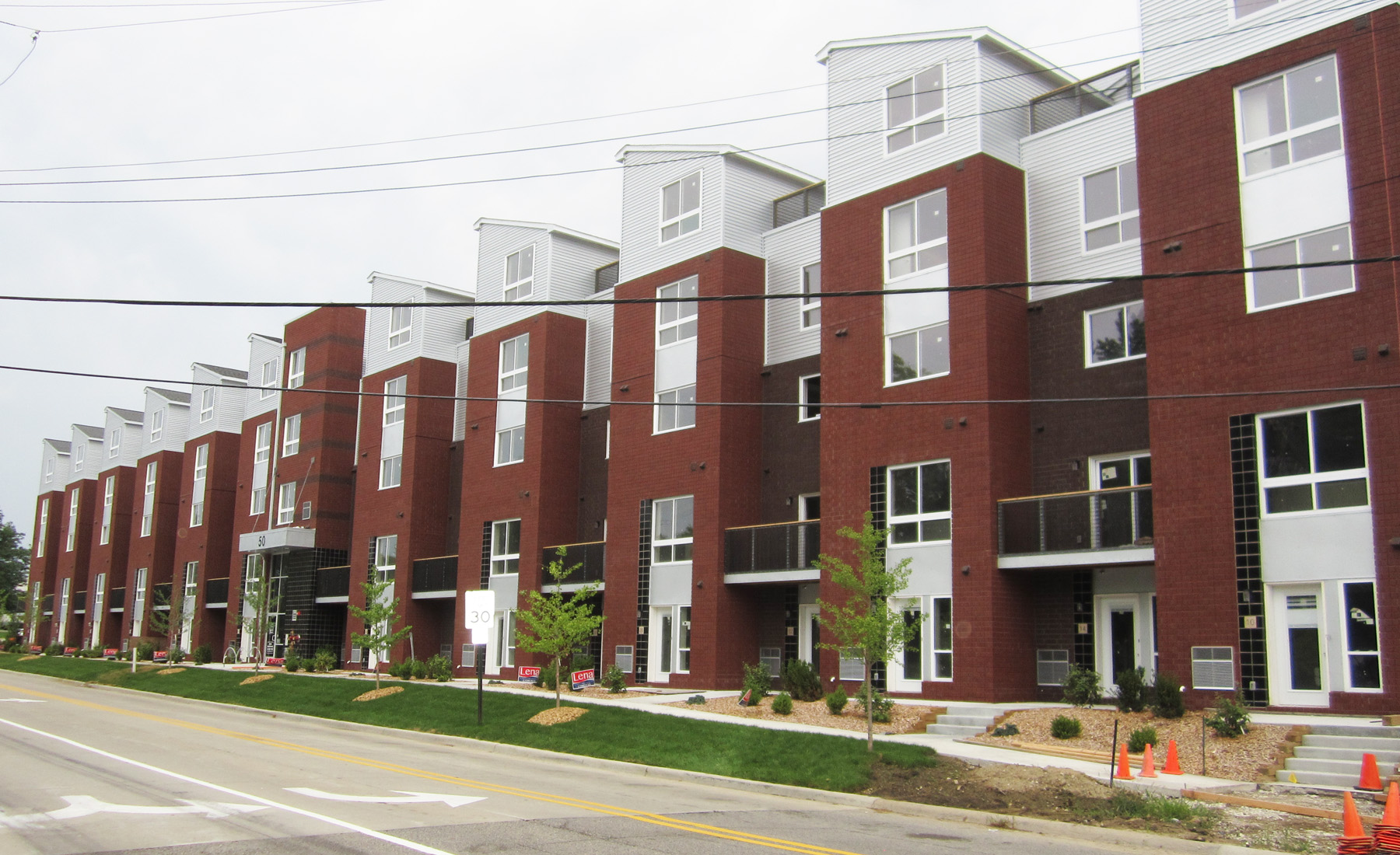 Amber town center townhomes and lofts for 3 story townhomes