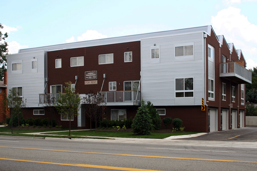 Three Story Townhomes : Amber townhomes
